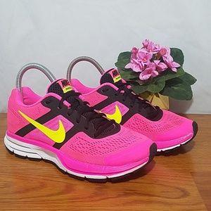 Nike Air Zoom Pegasus 30 Hot Pink Volt Black 7.5